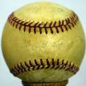 Cy Young/Mantle Circa 1953 Signed Baseball! 7 JSA LOA (FULL)