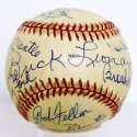 HOF Ball w/DiMaggio & Mantle 9.5 (83 AS Game Ball)