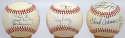 Lot of 20 assorted signed baseballs 9