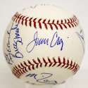 1980 U.S. Olympic Hockey Team Signed Baseball 9.5
