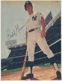 8 x 10  Murcer, Bobby (vintage Sport Magazine) 9 JSA LOA (CARD)