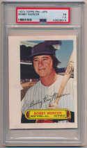 1973 Topps Pinups  Murcer, Bobby PSA 1.5