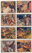 1940 Lone Ranger  Near-Complete Low Number Set (21/24) Good