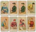1910 E47 Jockey Caramels  Collection of 11 Cards Good