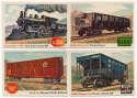 1954 Rails n Sails  88 different Ex-Mt/NM