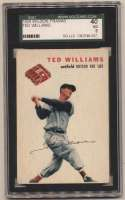 1954 Wilson Weiners  Williams, Ted SGC 3