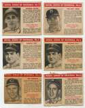 1950 Royal Desserts  Lot of 19 w/6 HOFers VG to VG-Ex