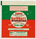 1952 Topps   5 Cent Wrapper VG-Ex