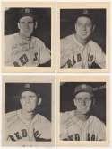 1953 First National Super Market Boston Red Sox  Complete Set (4) VG*