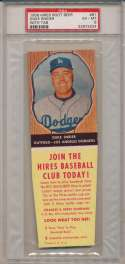 1958 Hires with tab 61 Duke Snider PSA 6