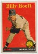 1958 Topps 13.2 Billy Hoeft YL VG-Ex