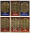 1965 Topps Embossed  Complete Set NM