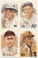 1980 Perez Steele  162 different w/Ruth, Cobb, Clemente etc. Nm-Mt