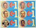 1970 Dunkin Donuts Cubs Bumber Stickers  Complete Set (6) w/3 HOFers Ex-Mt