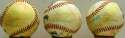 Old Timers Balls from Red Schoendienst (5 pcs) 8