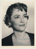 Photo  De Havilland, Olivia (vintage) 8.5 JSA LOA (CARD)