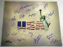 Large Print  Olympic Stars Signed Print (16 sigs) 9.5