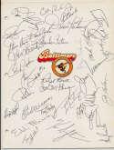 Team Sheet  1982 Royals 8