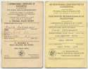 Patterson, Floyd Triple-Signed Vaccination Document + Extra 9 JSA LOA