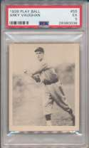 1939 Play Ball 55 A Vaughn PSA 5