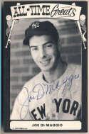 Postcard  DiMaggio, Joe 9.5