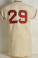 1963 Jersey  Albie Pearson California Angels Road Ex