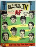 1955   PF Flyer Original Advertising Display w/Mickey Mantle VG-Ex