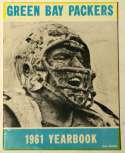 Program  Green Bay Packers Signed 1961 Yearbook w/Lombardi 8