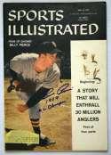 Program  Pierce, Billy Signed 1957 S.I. 9.5