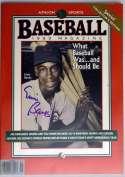 Program  Banks, Ernie Signed 1995 Baseball Magazine 9.5