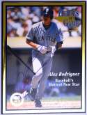 Program  Rodriguez, Alex Signed 1996 Limited Edition Program 9.5
