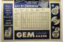 1951 Program  Mickey Mantle First Game Scorecard! Ex+