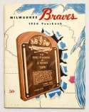 1954 Yearbook  Milwaukee Braves VG-Ex