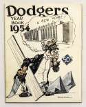 1954 Yearbook  Brooklyn Dodgers Ex-Mt