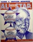 1956 All Star Game  Program Ex