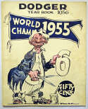 1956 Yearbook  Brooklyn Dodgers VG-Ex