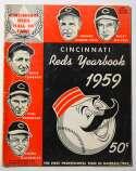 1959 Yearbook  Cincinnati Reds VG