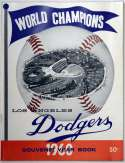 1960 Yearbook  Los Angeles Dodgers NM