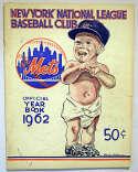 1962 Yearbook  New York Mets GVG