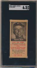 1954 NY Journal American 14 Pee Wee Reese SGC 6.5