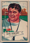 1952 Bowman Large 135 Ronzani RC VG+