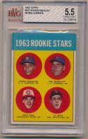 1963 Topps 537 Rose RC Beckett 5.5