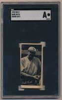 1923 W572  Babe Ruth SGC A