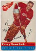 1954 Topps 58 Terry Sawchuk Good