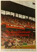 1966 Scorecard  Cardinals (last game old Busch Stadium) VG