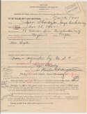 Sharkey, Jack Rare Full Name Signed 1943 Document 9 JSA LOA (FULL)