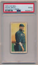1909 T206 437 Smith (Chicago, F Smith) PSA 2 (Old Mill)