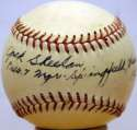 Deceased  Sheehan (1920-21 Dodgers, signed in 1953), Jack  8.5 JSA LOA