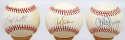 Lot of 50 Single Signed Baseballs w/stars 8