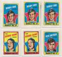 1971 Topps Story Booklets  Collection of 22 w/5 Orr & Howes Ex-Mt
